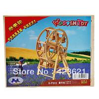 4pcs/Lot Wooden 3D Puzzle Ferris Wheel Toy for Kids (G-P033)