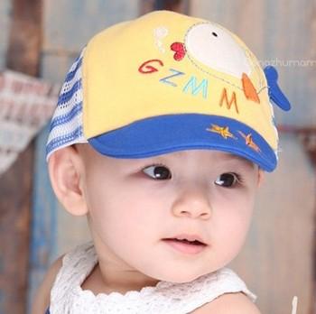 Dollarfish style mesh cap baby hat cap