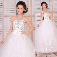 2013 princess wedding dress wedding dress the bride wedding dress plus size maternity mantianxing wedding dress