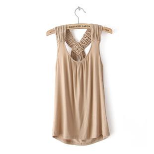 Fashion women's f21 slim comfortable modal cotton small vest spaghetti strap