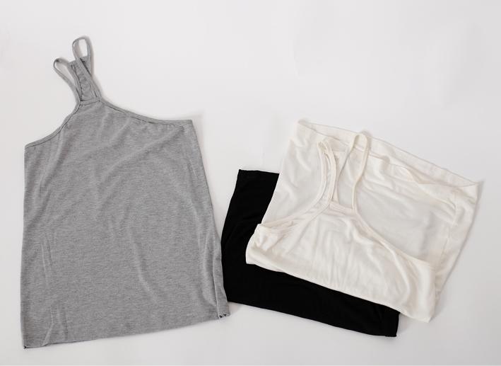 Fashion basic 2013 special female small vest oblique spaghetti strap three-color