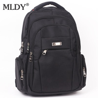 Hot selling commercial computer backpack male student backpack fashion unisex canvas school bag travel bag  / free shipping