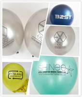 KPOP EXO TVXQ SHINEE SNSD FTISLAND B2ST balloon for party and concert
