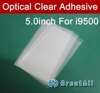 5'' inch OCA optical clear adhesive,double side sticker for samsung Galaxy S4 i9500,250um thick,free shipping