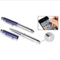 Multi Functional Medical Pen LED Light Ballpen Touch Screen Handwrite 50 pcs per lot Free Shipping