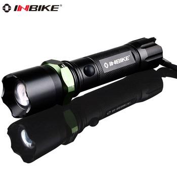 Inbike 603 glare flashlight waterproof mishit household lamp q5 mobile phone usb charge belt life-saving hammer  freeship