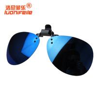 2013 myopia sunglasses clip polarized sunglasses glasses sunglasses male Women large sunglasses mercury