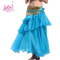 Belly dance clothes bottoms dance skirt layered dress dance clothes
