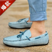 2013 new arivall fashion Casual Leather driving Shoes,Mocassins,Soft and Comfortable loafers for men  0728