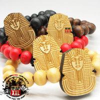 Good wood hiphop pharaoh hiphop wood bracelet goodwood