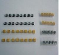 Free shipping for 3528  ( type B ) 22UF 25V black NEC/AVX SMD Tantalum capacitor 1000PCS/LOT
