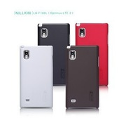 Genuine Nillkin Super Shield Shell Hard  matte Case Cover Skin Back + Screen Protector For LG F160L Optimus LTE 2 free shipping