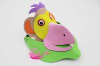 free shipping 10pcs/lot Eva hat cartoon sunbonnet parent-child props cap animal hair accessory cartoon hat monkey hat