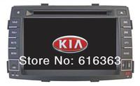 Car dvd player for Kia Sorento car radio 2005-2009 with GPS navigation Bluetooth DVD Radio TV Camera AUX