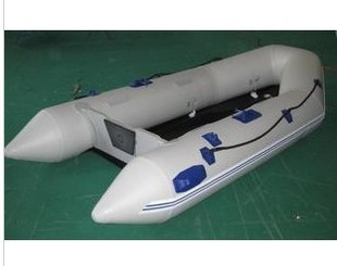 Aluminum alloy base plate assault boats fishing boat yacht inflatable boat rubber boat thickening outboard yacht