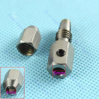 1pc Stainless Steel Flex Collet Coupler For 5mm Motor Shaft And 4mm Cable RC Boat