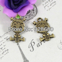 Free shipping-  23*13MM 50pcs/lot  diy accessory Vintage accessories girl,Jewelry accessories pendant,jewelry fittings