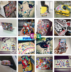 150pcs/lot randomly delivery hot fashion popular patterns QUALITY 3M STICKERS mini stickers 5-8cm doodle stickers car bike motor(China (Mainland))
