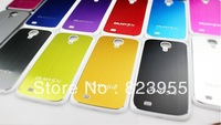 DHL Free shipping NEW Metal Brushed Aluminum Hard Case Cover for samsung galaxy s4 i9500 50pcs/lot