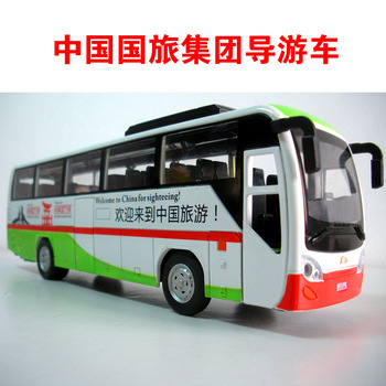 Luxury car bus plain WARRIOR door alloy car model