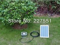 FREE SHIPPING 5w  LED Solar garden lighting
