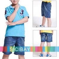 Jeans New Design Free Shipping Children Clothing Kids Wear Boy Denim Blue Jeans Shorts,Free Shipping K1173
