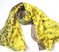 free  shipping fasion voile peacock bird scarf/fashion animal flower new shawls/big wraps