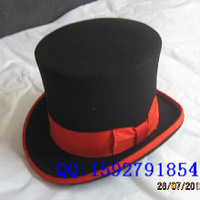 2014  100% Wool top hat fedora royal president cap magic felt hat chapeau casquette  free shipping new arrival