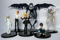 Death Note Figures Figurine 6pcs Light Japan Anime L Light Yagami Misa New Arrival