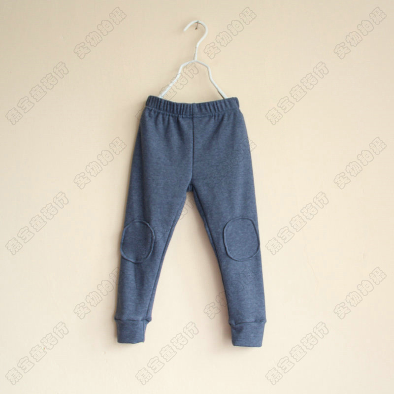 2013 autumn Children comfortable patches pants Leisure trousers(China (Mainland))