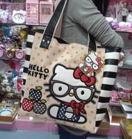 Fashion  Laidies    Handbags kitty   Cotton   Casual  Shoulder  Bags   Girls   Totle   Bags