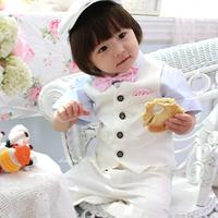 boy blazer 2014 spring new Flower boy vest/ formal suit/ boy's costume/male child suit