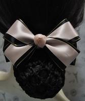 Multicolor hair accessory handmade bow net bag hair accessory