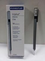 Free shipping Trigonometric 774 retractable rod mechanical pencil metal chirography 0.5 pencil 12 Pen
