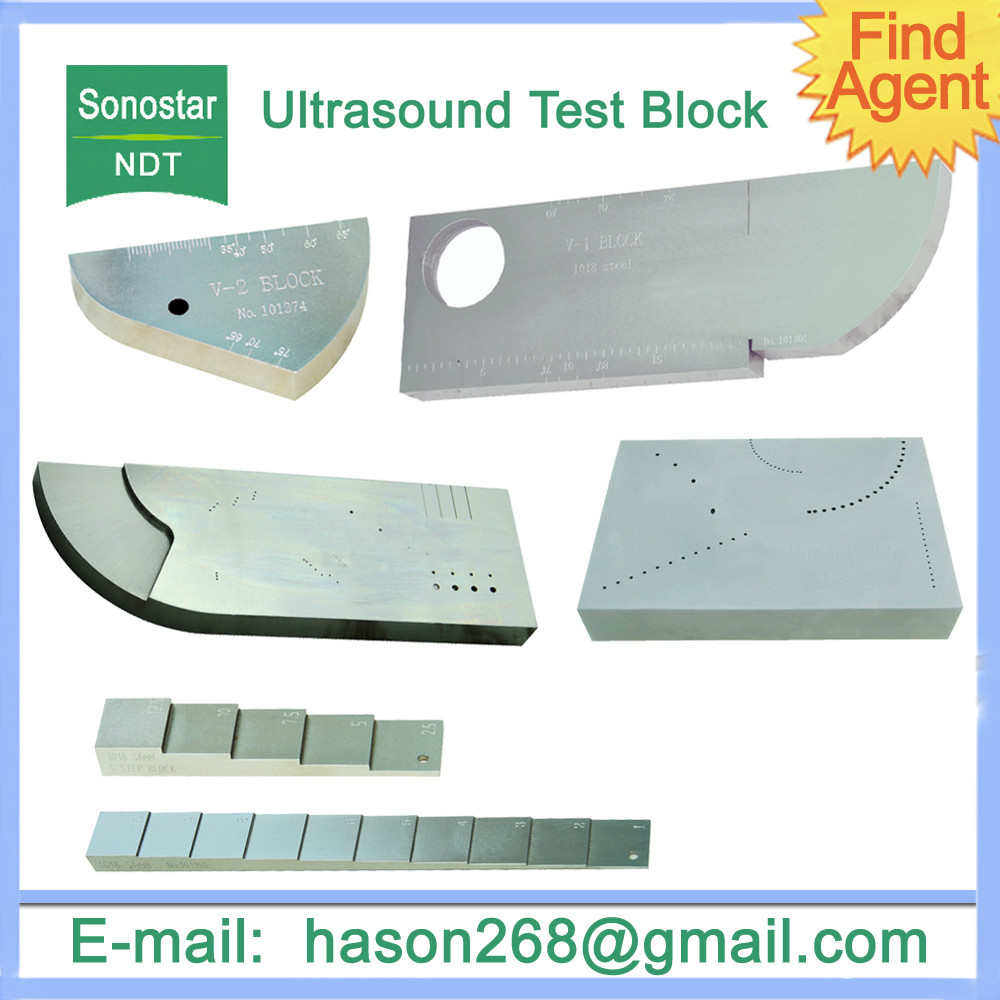 NDT Ultrasound Test Block(NDT ultrasonic equipment,measure,calibration,sonostar)(China (Mainland))
