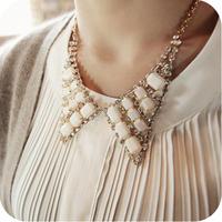Accessories rhinestone bling all-match gem false collar female necklace accessories