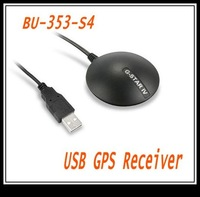 GlobalSat BU-353S4 USB GPS Receiver SiRF Star IV 48 Channel For PC And Laptops Portable GPS