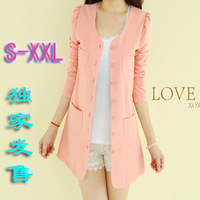 Women's spring new arrival blazer slim elegant female candy color cardigan blazer
