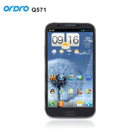 Freeshipping Ordro Q571 5.7''1280x720 Android 4.2.1OS 8G 1G Quad Core MTK 6589 WCDMA WIFI Bluetooth GPS Dual SIM Smart Phone
