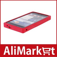 Silicone Case for Samsung I9100 Galaxy S2 (Red)