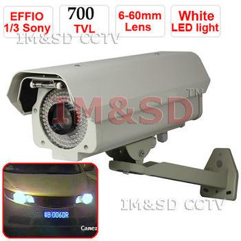 color image at night! Sony Effio 700TVL Capture CAR registration Licence VEHICLE NUMBER PLATE Camera varifocal Illumination 60m