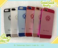 World luxury Das Auto. car LOGO Metal hard back case for iPhone 5 5g ,free shipping