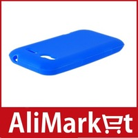 Silicon Protective Case for HTC C110E/ Radar (Blue)