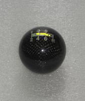 Custom design fit for Mugen 6 speed Carbon Fiber Gear Shift Knob Black  line