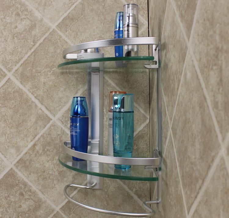 estantes para bao de vidrio con barra de toalla accesorios de bao estantes estantes para bao vidrio