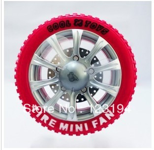 Free shipping / USB Mini Fan Rechargeable Fan tires(China (Mainland))