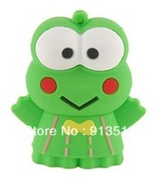 Hot Frog shape usb flash memory drive 2GB 4GB 8GB 30pcs/lot