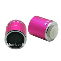 MA02 Portable MP3 mini Card speakers Music Box support card/U-DISC with Reatil Box