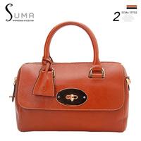 2013 full genuine leather first layer of cowhide women's handbag brief box package handbag