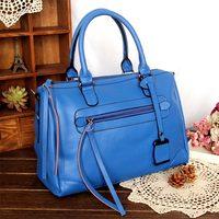 Fashion fashion 2013 BOSS bucket handbag cowhide women's handbag tassel bag messenger bag motorcycle